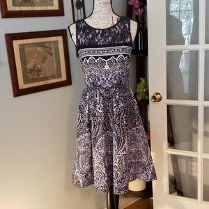 Gabby Skye Fit & Flare Dress Size 10